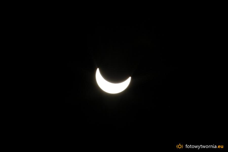 Zaćmienie słońca – jak zrobiłem to zdjęcie